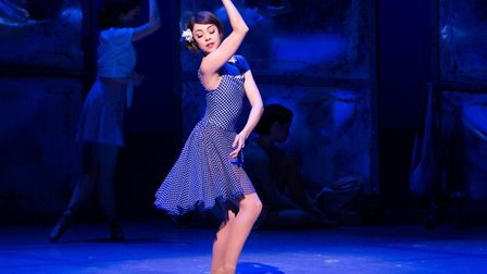 Leanne Cope in An American in Paris which is currently enjoying a critically acclaimed run at London