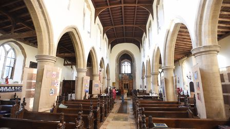 The exhibition is taking place at St Mary's Church in Mendlesham. Picture: GREGG BROWN