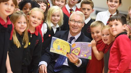 Former headteacher Kevin Bullock at St Christopher's CEVC Primary School in Red Lodge. Picture: GREG