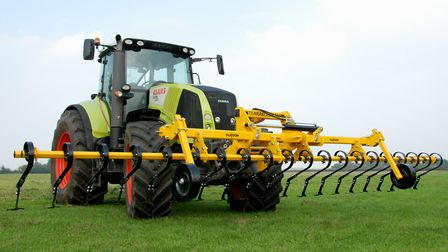 The new Claydon TerraBlade Inter-Row Hoe will be launched at LAMMA 2018. Picture: CLAYDON DRILLS