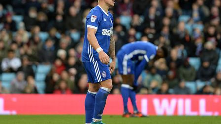 Martyn Waghorn is disappointed at Villa Park Picture Pagepix