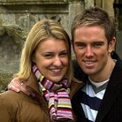 Gemma and Simon Thomas pictured at Dereham St Nicholas Church in 2004. Picture: ADRIAN JUDD