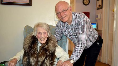 Inga Wheeler has been celebrating her 104th birthday with friends and family with friends