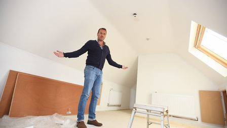 Adam Harley is warning others after claiming to have lost �23,000 to a builder who failed to finish