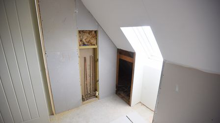 Mr Harley has had to spend thousands more on other builders to complete the job. Picture: ARCHANT