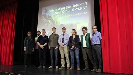 Some of the keynote speakers who featured at the Breaking New Ground celebratory conference at The C
