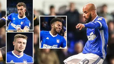 David McGoldrick is out for a month with a groin injury, so who will replace him? Picture: STEVE WAL