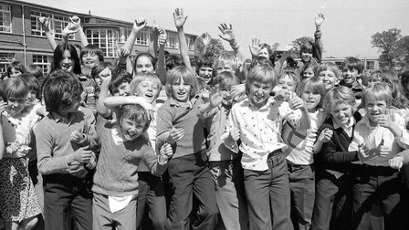 Were you among the enthusiastic group of pupils who greeted photographer Jerry Turner when he visite