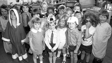 Fancy dress fun at Sidegate Lane School, Ipswich, in May 1977. Are you in the picture? Picture: JERR