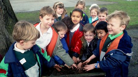 Did you take part in the Green Day project organised by Sidegate Lane School in March 1991? Pictur