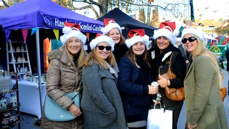 Visitors enjoy the stalls in the Abbey Gardens. Picture: ANDY ABBOTT