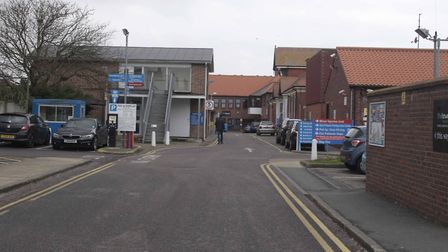 Clacton Hospital. Picture: NIGE BROWN