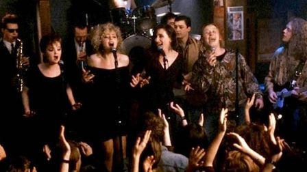 The Commitments, Alan Parker's uplifting tale of a Dublin soul band. Photo: 20th Century Fox