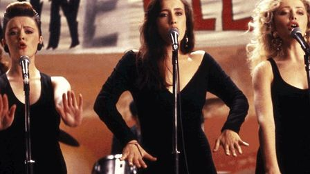 Bronagh Gallagher, Maria Doyle, Angeline Ball, the backing singers in The Commitments, Alan Parker