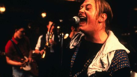 Andrew Strong plays Deco, the lead singer with a powerful voice, in The Commitments, Alan Parker's u