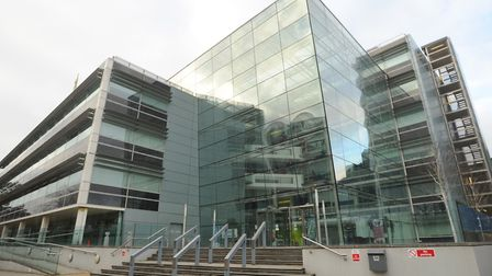 Endeavour House in Ipswich, the headquarters of Suffolk County Council. Picture: SARAH LUCY BROWN