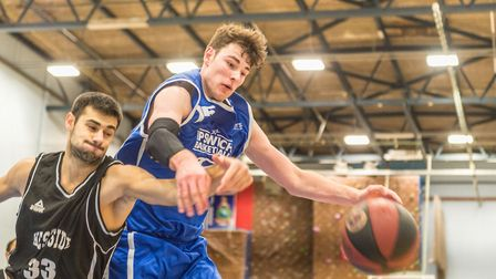 Jonny Hall had a huge game for Ipswich in their win over London Westside. Picture: PAVEL KRICKA