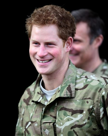 Prince Harry during a visit to RAF Honington in 2012. Picture: CHRIS RADBURN/PA WIRE