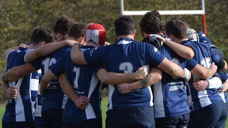 Chelmsford showed their fighting qualities in defeat at Romford. Picture: CHELMSFORD RFC