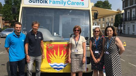 Suffolk Family Carers has been awarded �4,000 from Tesco. Picture: MICHAEL STEWARD