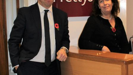 Partners Georgie Hall and Matthew Cole will lead the newly created service lines. Picture: PRETTYS