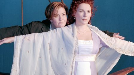 300 Years of French & Saunders - Dawn and Jennifer may be exaggerating a tiny bit (C) BBC