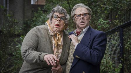 Tubbs and Edward get dressed up for The League of Gentlemen Anniversary Edition(C) BBC