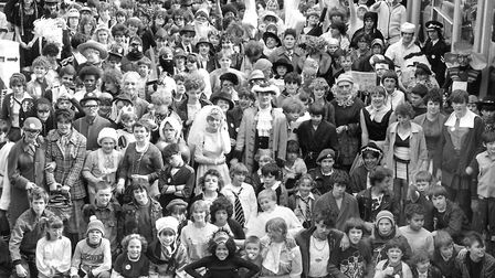 Are you in this picture taken at Thurleston Schools Civies Day in March 1983? To submit a letter,