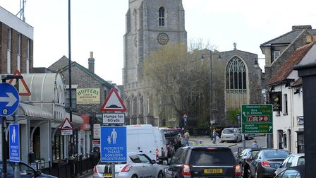 Sudbury residents have been calling for a new relief road to take traffic away from the town centre.