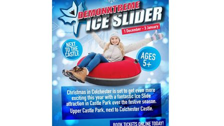 Take a ride down the Demonxtreme Ice Slider. Picture: CONTRIBUTED