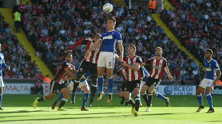Jonas Knudsen has said he loves the art of defending and will always be ready to fill in as a centre