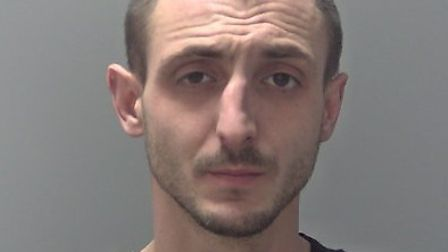 Krzysztof Hapek, who was sentenced to 16 years imprisonment at Ipswich Crown Court. Picture: SUFFOLK