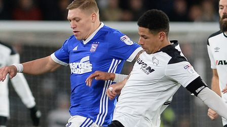 Martyn Waghorn is set to lead the line against Nottingham Forest. Picture Pagepix