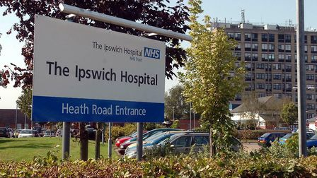 Ipswich Hospital. Picture: PHIL MORLEY