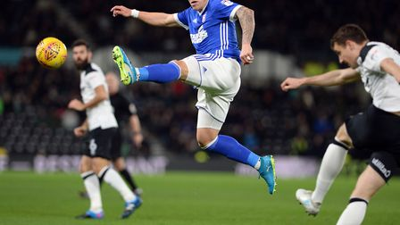 Martyn Waghorn will continue to lead the line for Ipswich Town in the absence of the injured Joe Gar
