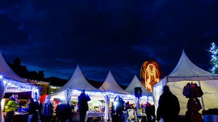 There is so much to do at the Lavenham Christmas fair. Picture: BARRY PULLEN