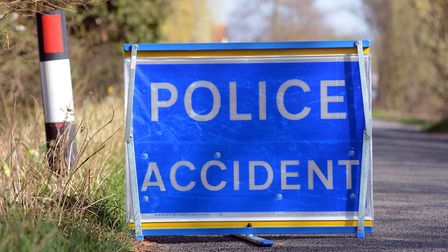 Police discovered a crashed car in the middle of the road. File picture: ARCHANT LIBRARY