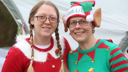 The Festive Forest Challenge Run at West Stow Country Park.Picture : RICHARD MARSHAM