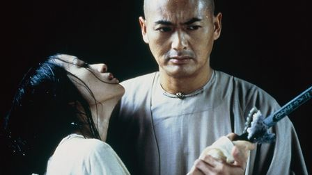 Chow Yun-Fat and Zhang Ziyi star in Ang Lee's film Crouching Tiger, Hidden Dragon. Photo: Sony Pictu