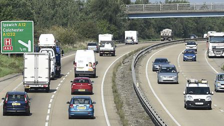 The crash happened on the A120 at Ardleigh. Picture: Pagepix Ltd/Haven Gateway Partnership
