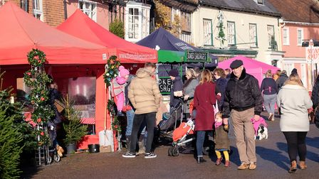 There were more than 70 stall this year. Picture: RICHARD MARSHAM