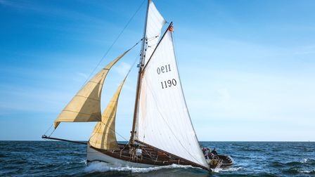 Leila set off quickly at the start of the 500-mile race. Picture: RICHARD SIBLEY