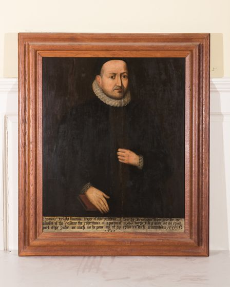 Thomas Bright the elder, one of the paintings on display at the Apex for the Guildhall Portraits Art