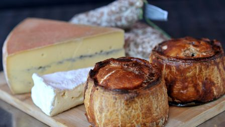 Delicious pies and cheese from the Woodbridge Deli. Picture: SARAH LUCY BROWN