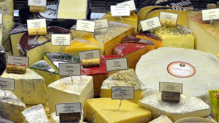 Cheese at the Woodbridge Deli. Picture: SARAH LUCY BROWN