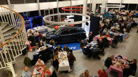 The three charity quiz nights were held at John Grose dealerships in Ipswich and Lowestoft. Picture: