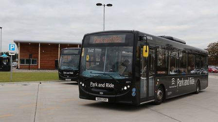 Colchester's Park and Ride. Picture: EAST NEWS