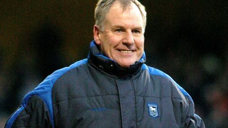 Joe Royle, pictured during his time as Ipswich manager. Picture by Ashley Pickering