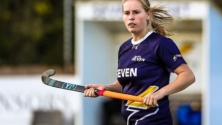 Sophie Sexton was Ipswich's star player in their win at Sevenoaks. Picture: STEVE WALLER