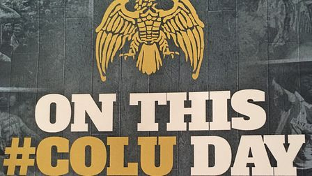 'On this #colu day' book cover